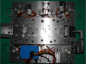 Electromechanical integration consecutive mold