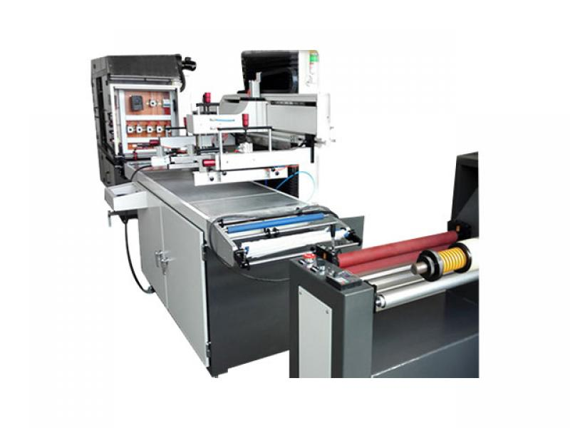 Automatic roll to roll screen printing machine,Labels printing machine ,screen printing machine pric
