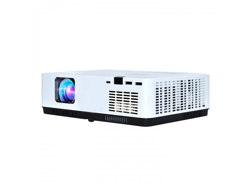 AWO LCD Wireless Projector 1920X1200 4000Lumens for Business , Home Theature, Kindergarten
