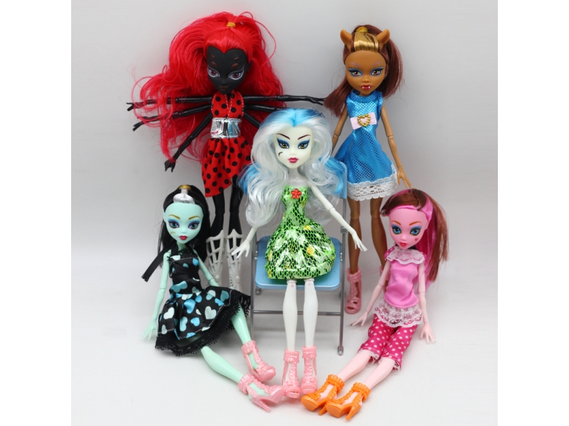 1pcs Dolls New Style high dolls Monster fun high Moveable Joint Body Fashion dolls Girls Toys Best G