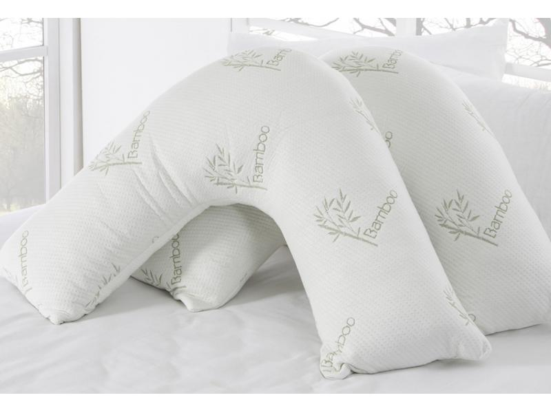 Comfort V Chipped Side Sleep Memory Foam Pillow