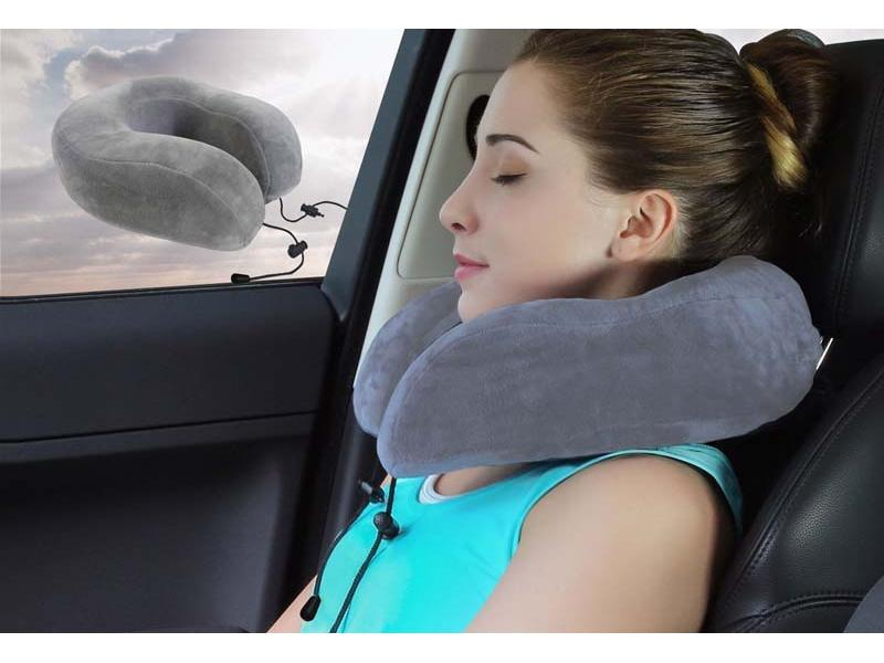 Travel Memory Foam Support Neck Pillow