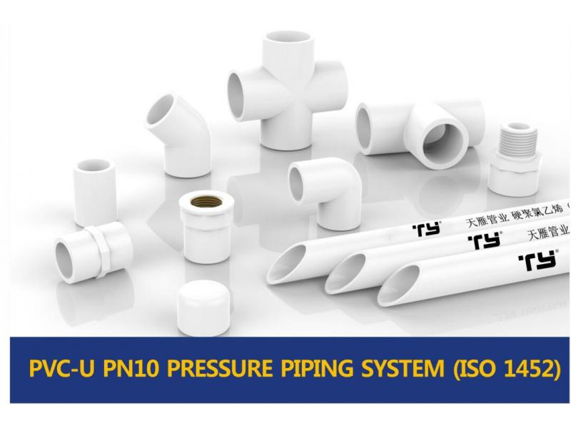 PVC-U PN10 PRESSURE PIPING SYSTEM (ISO1452)