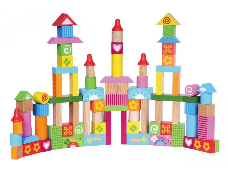Wooden Building blocks 88pcs