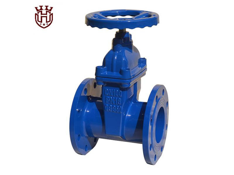BS5163 Flanged Resilient Seated Gate Valve