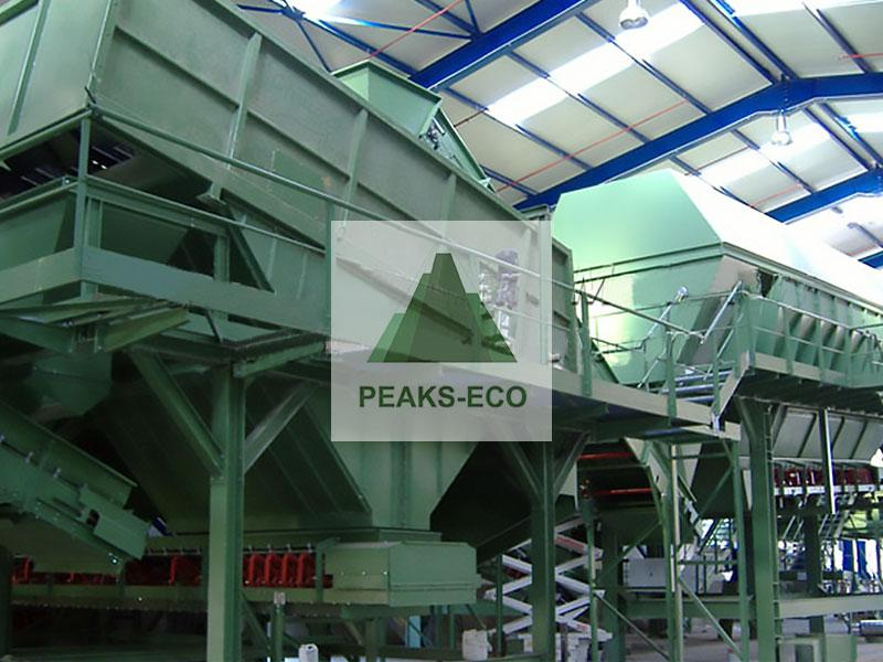 Waste Sorting System for Municipal and Household Waste,waste sorting system,waste sorting machine