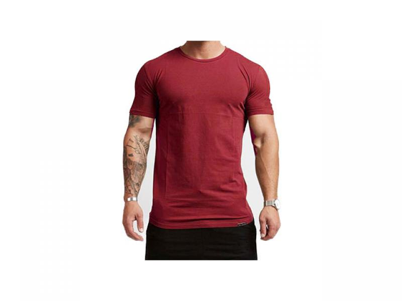 Men's fitness T-shirt slim fit T-shirt casual T-shirt