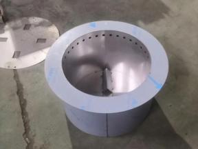 Cylindrical shelving