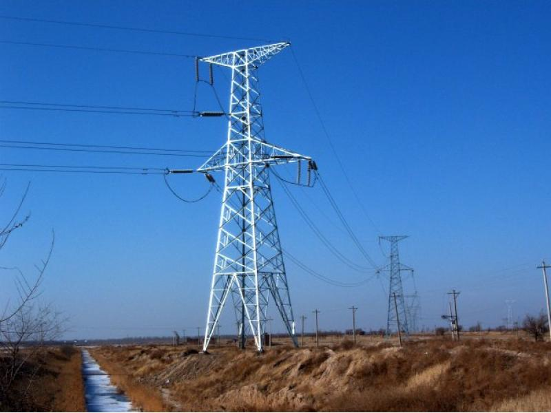 high voltage/extra high voltage electric power transmission line tower