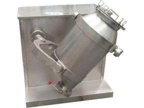 3 Dimensional Starch 3d Powder Additive Laboratory Horizontal Blender Mixer Machine