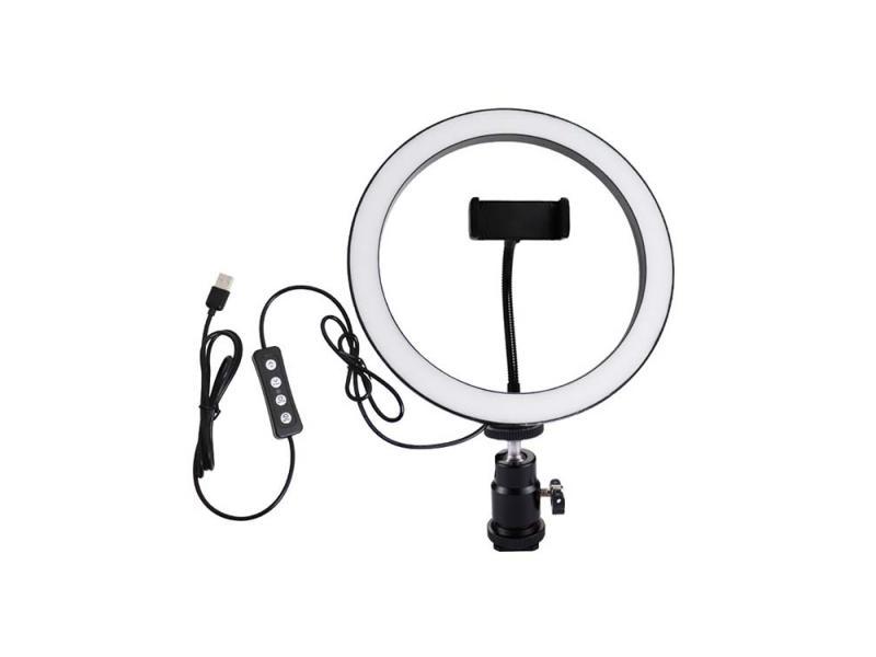 China factory China supplier New 3000LM LED 10inch Studio Photography Soft Circle Ring Light Fill li