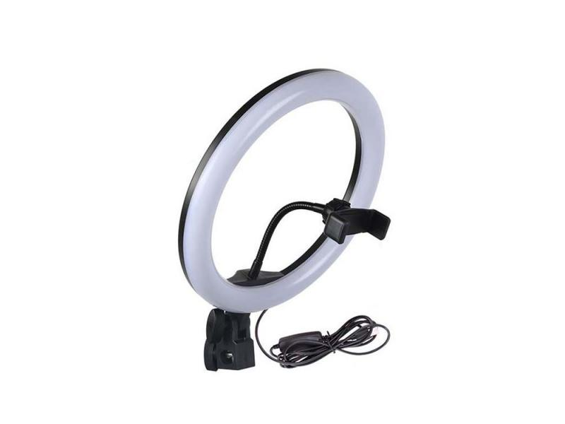 High quality 10 Inch 2700K 120 LED Ring Video Light LED  fill light with Mikeup Mirror for Photograp