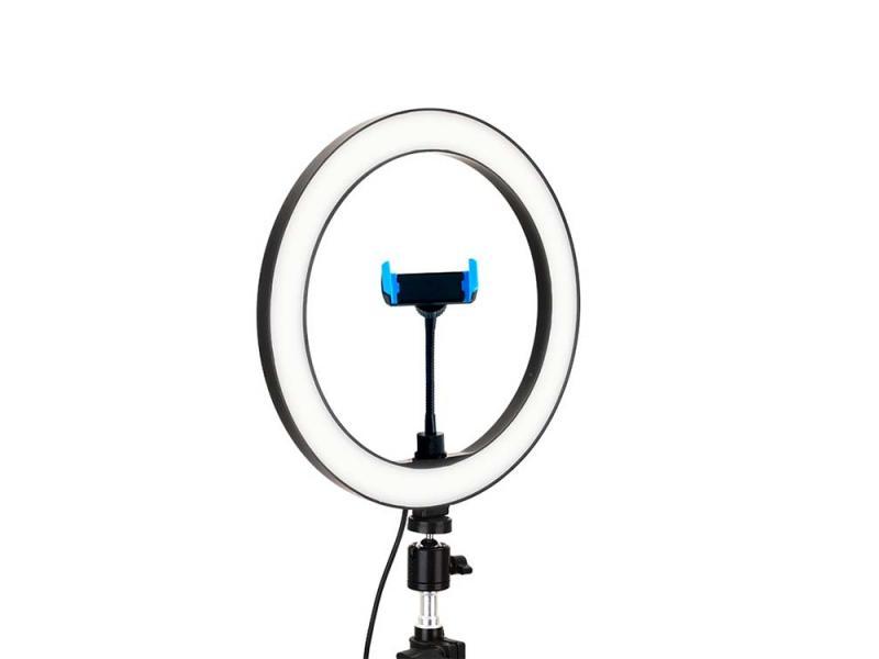 China factory 2700-6500k 10inch table holder photography ring light camera studio selfie fill lights