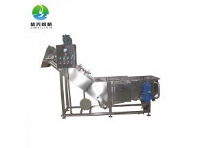 Air Bubble industrial  Fruit Vegetable Washing Machine