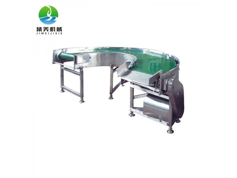 Tin canned food grade industrial plant Stainless Steel Conveyor with different shape