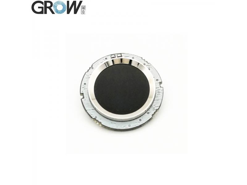 GROW R502 DC3.3V Small Circular Blue Red LED MX1.0-6pin Capacitive Fingerprint Access Control Module