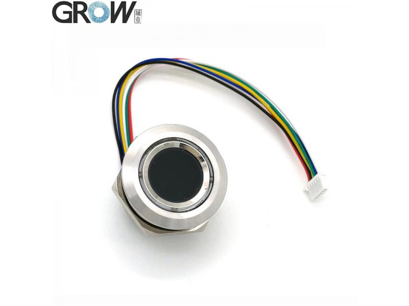 GROW R503 New Circular Round Two-Color Ring Indicator LED Control DC3.3V MX1.0-6pin Capacitive Finge