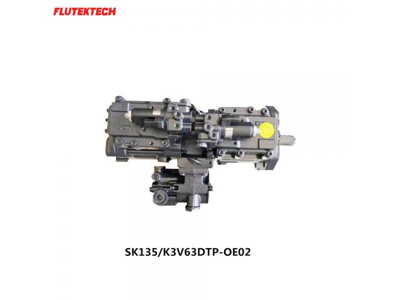 SK135 K3V63DTP-OE0 hydraulic pump