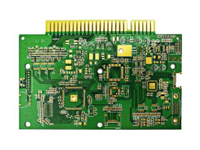 Double sided gold finger circuit board