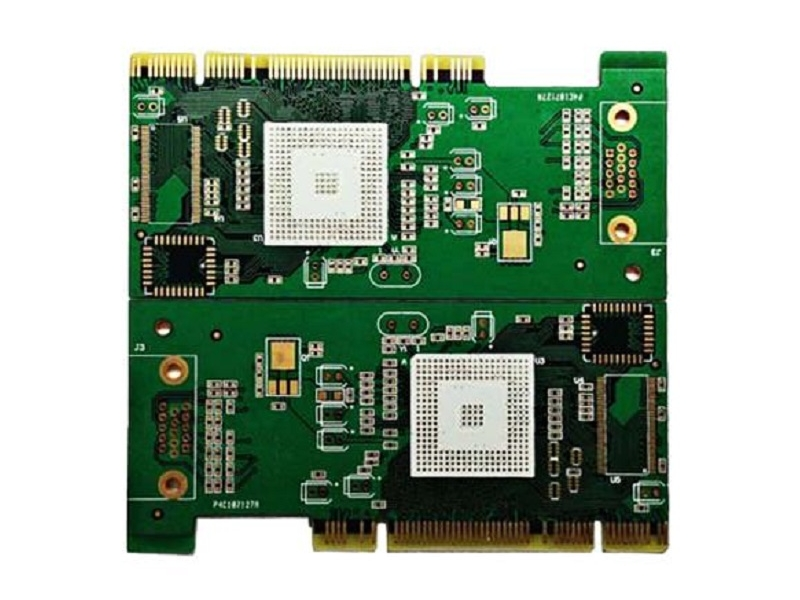 Double gold finger circuit board