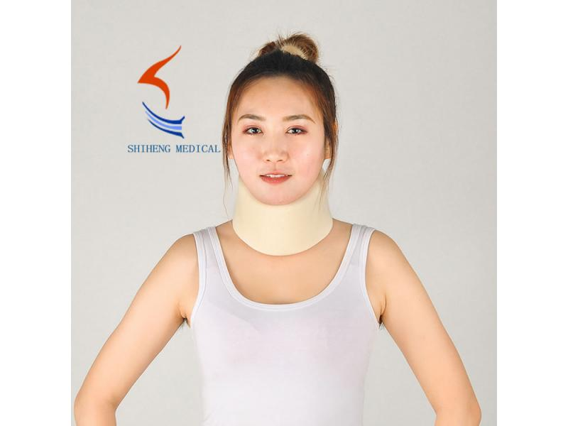 Soft foam neck collar S - XL size neck support white/black/skin/blue color available