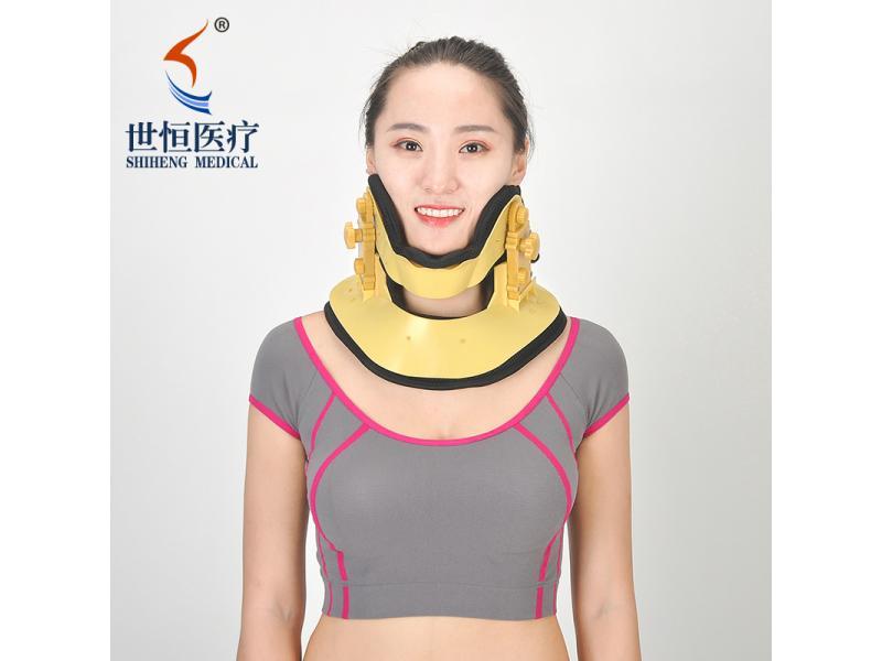 Leading design adjustable cervical collar free size neck brace