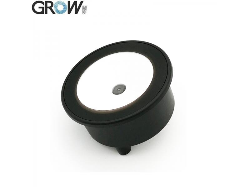 GROW GM73 Small Round Easy Installation USB UART 1D 2D QR Code Barcode Scanner Reader