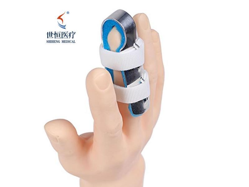 Aluminum finger splint with foam finger brace online selling