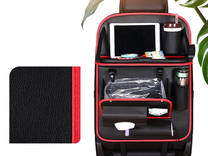 Multifunctional car seat storage bag