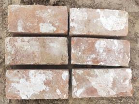 Reclaimed Antique read brick handmade