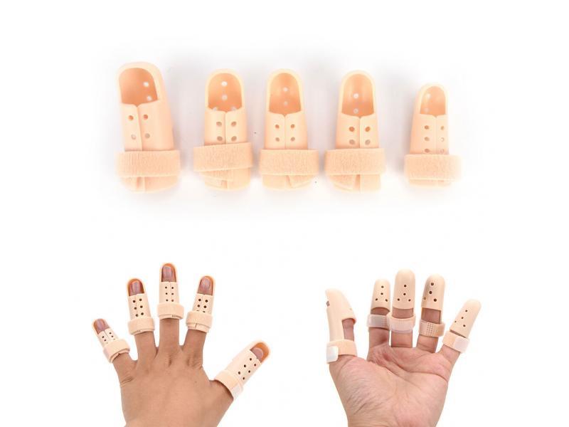 Finger support brace six size available plastic finger splint