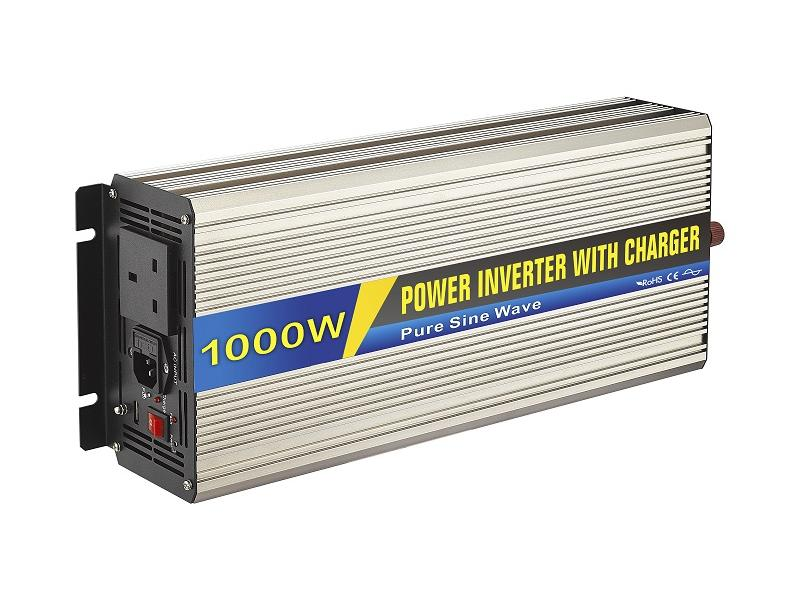 1000W Power inverter uk type with charge