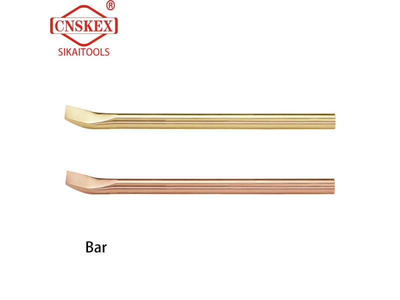 Hebei sikai market one's own products non sparking Bar 500-1500mm Al-cu Be-cu