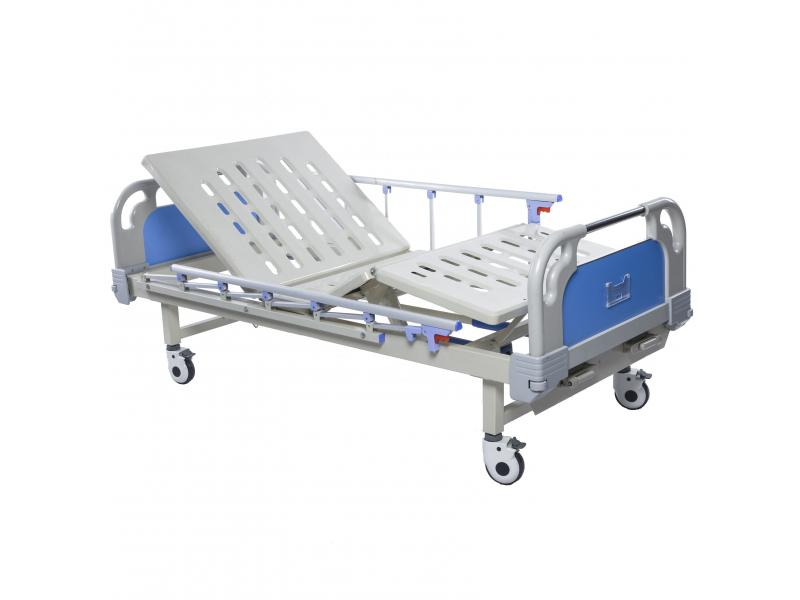 High Quality Medical Adjustable 2 Cranks Hospital Bed Prices