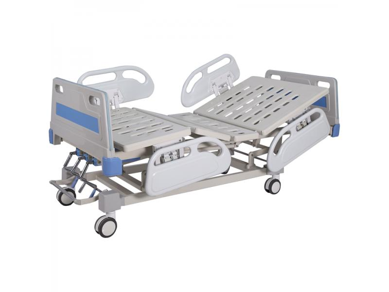 High Quality Three Crank Manual Hospital Bed For Patient