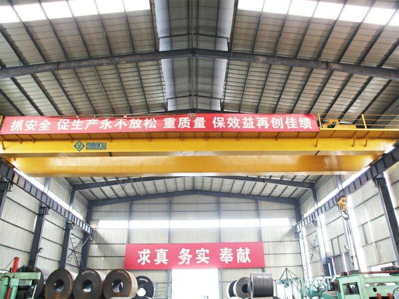 Double girder crane