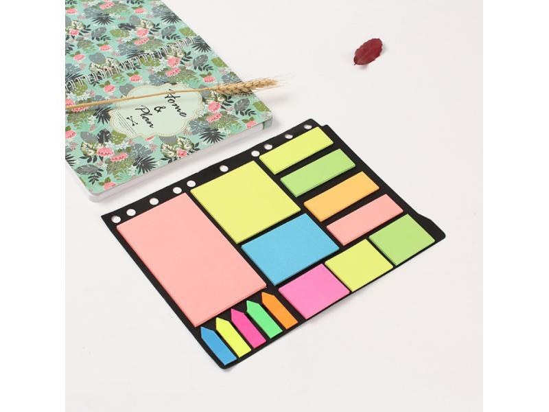 Cross border specially for fluorescent post-it note book combination creative post-it note gift adve