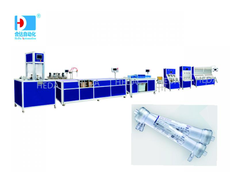 Artificial kidney assembly line