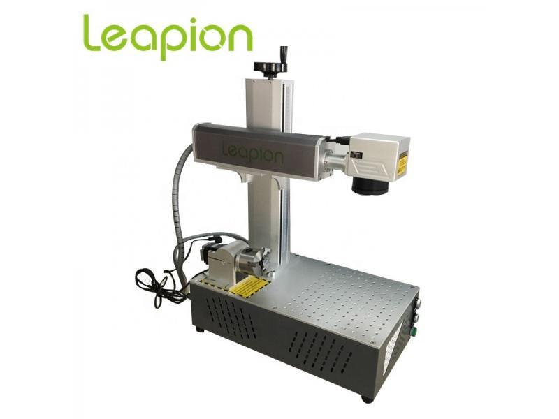 200*200fiber laser marking machine or laser marking machine for metal 20w 30w 50w 60w 100w 120w