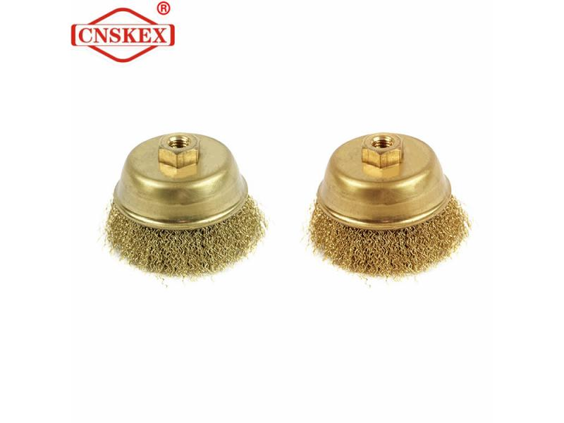 non sparking Brush Cup Factory underselling 100*30mm