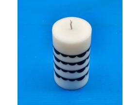 Scented paraffin wax Candle Pillar shape