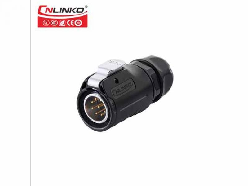 Communication 9 core waterproof signal connector plug and socket