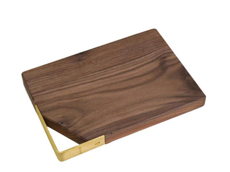 Black walnut solid wood chopping board kitchen chopping board manufacturers wholesale hotel customiz