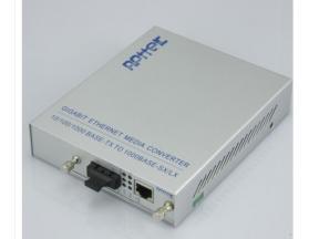 fiber to rj45 converter sfp media 10/100/1000 optical media converter