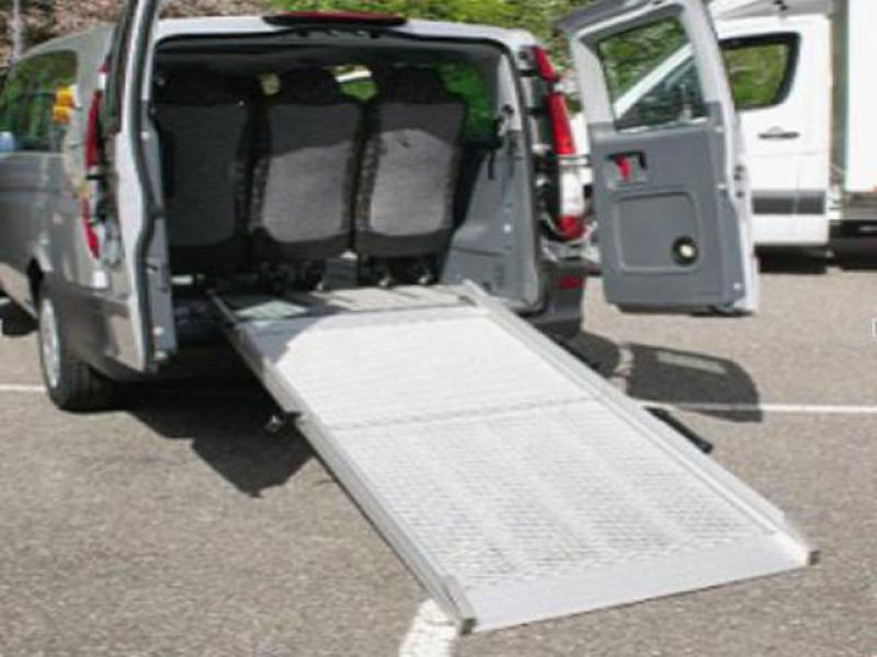 vehicle wheelchair ramp