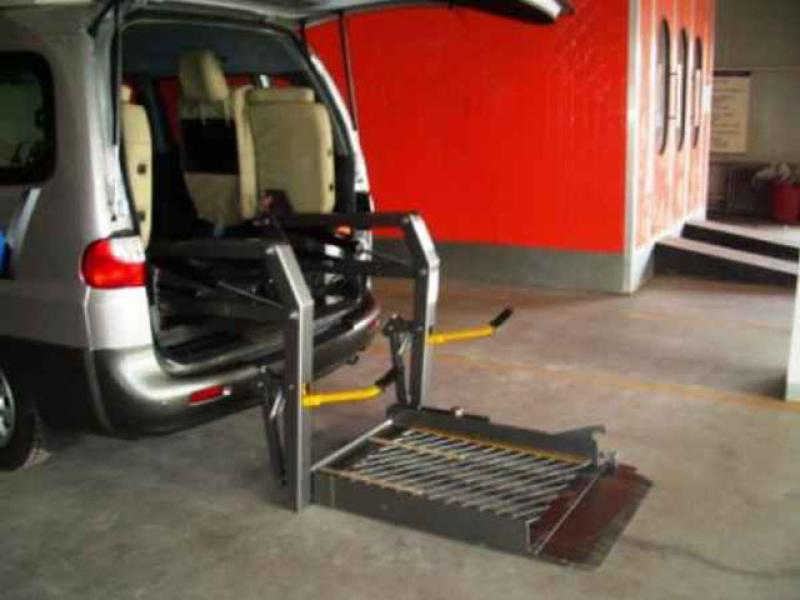 Qingdao car wheelchair lift