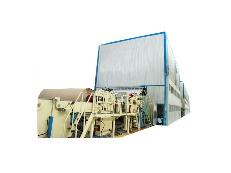 hot sale grey back kraft paper making machine price