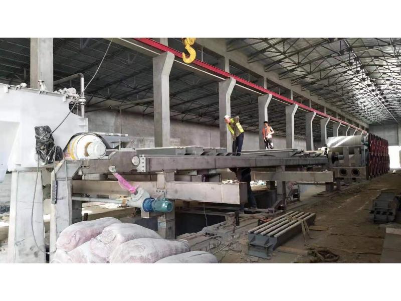 Taichang carton kraft corrugated paper making machine production line for sale