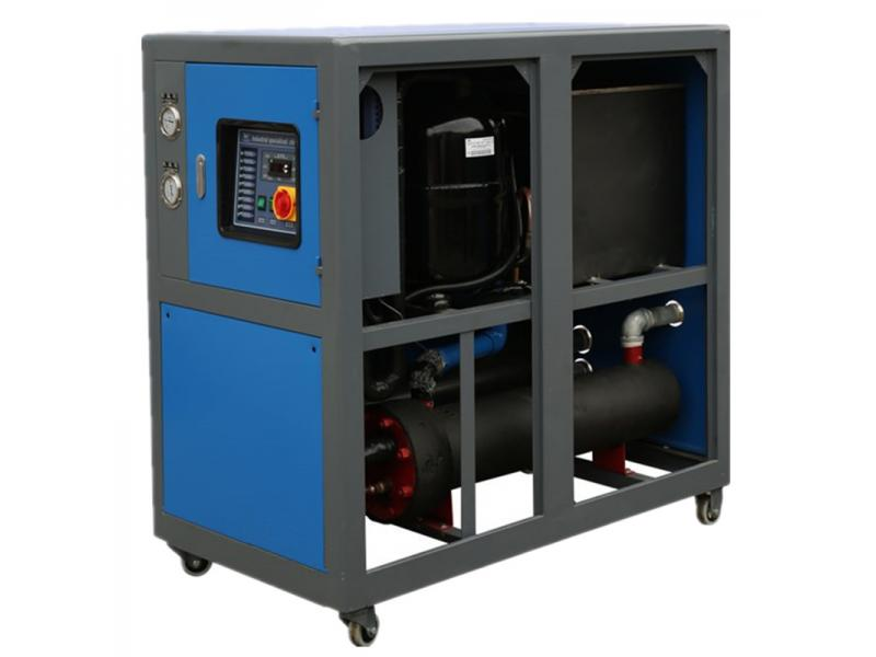 Water cooled industrial chiller system 30 ton