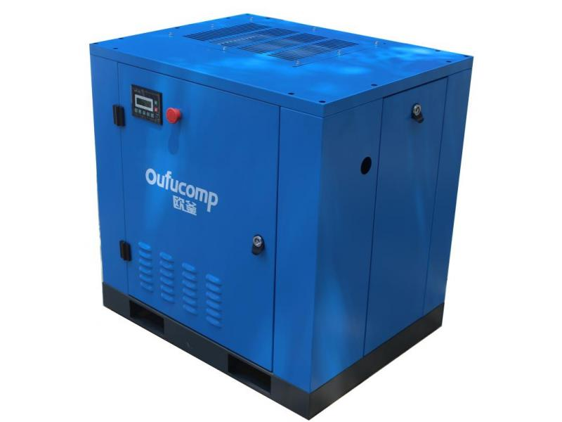 industrial oil-injected screw air compressors
